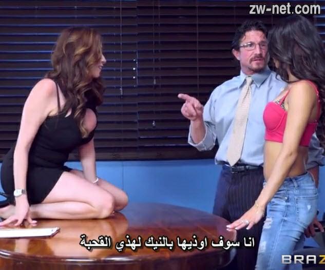 سكس نيك جماعي مترجم الزوج ينيك شرموطة أمام زوجته وتشاركهم