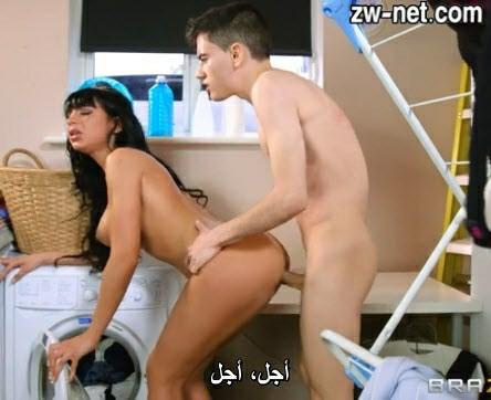 فيلم سكس مترجم جوردي المنحرف يزنق طيز مرات ابوه في المطبخ